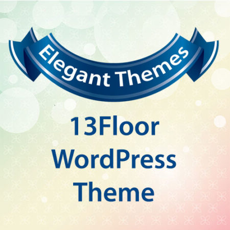 Elegant Themes 13Floor WordPress Theme