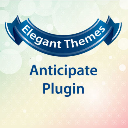 Elegant Themes Anticipate Plugin