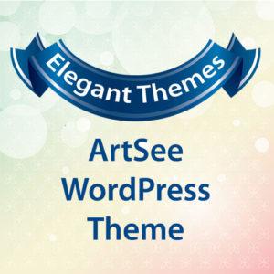 Elegant Themes ArtSee WordPress Theme