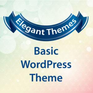 Elegant Themes Basic WordPress Theme