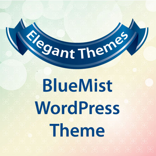 Elegant Themes BlueMist WordPress Theme