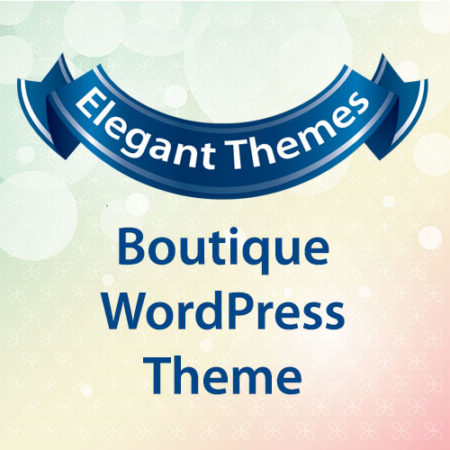 Elegant Themes Boutique WordPress Theme