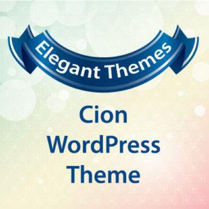 Elegant Themes Cion WordPress Theme