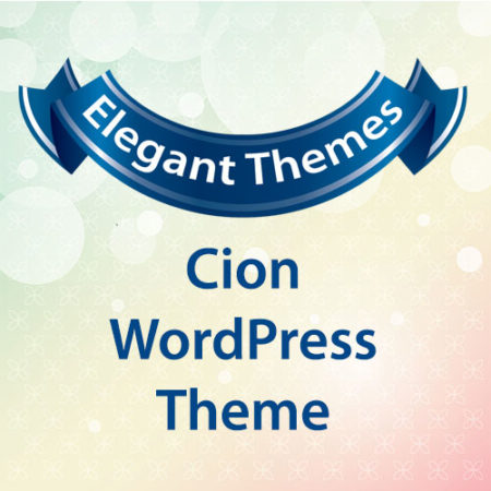 Elegant Themes Cion WordPress Theme