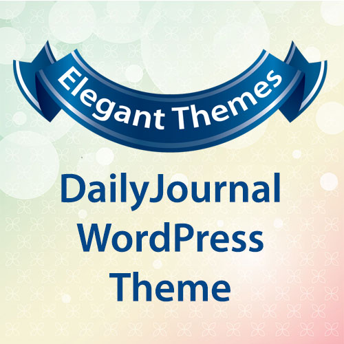 Elegant Themes DailyJournal WordPress Theme