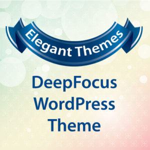 Elegant Themes DeepFocus WordPress Theme
