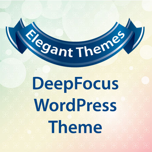Elegant Themes DeepFocus WordPress Theme
