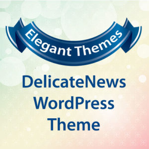 Elegant Themes DelicateNews WordPress Theme