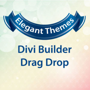 Elegant Themes Divi Builder Drag Drop