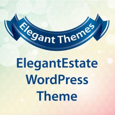 Elegant Themes ElegantEstate WordPress Theme