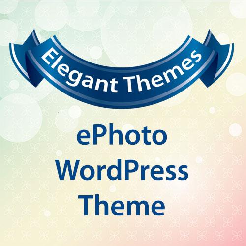 Elegant Themes ePhoto WordPress Theme