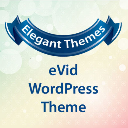Elegant Themes eVid WordPress Theme
