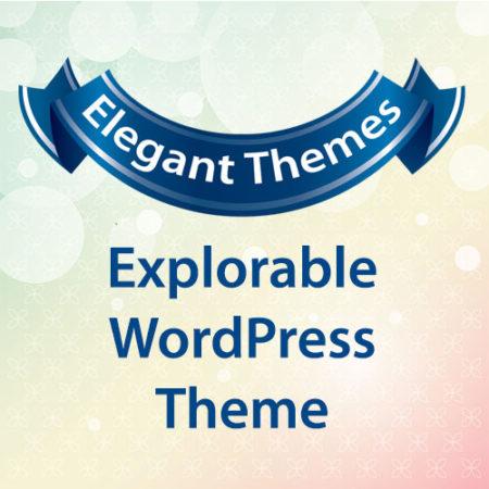 Elegant Themes Explorable WordPress Theme