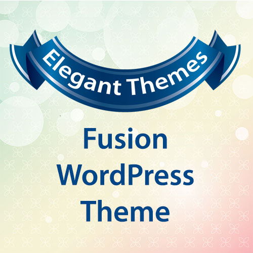 Elegant Themes Fusion WordPress Theme