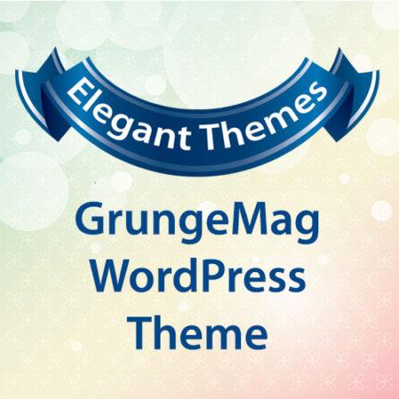 Elegant Themes GrungeMag WordPress Theme