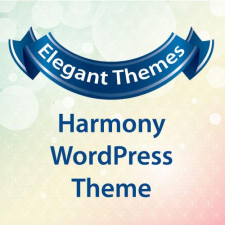 Elegant Themes Harmony WordPress Theme