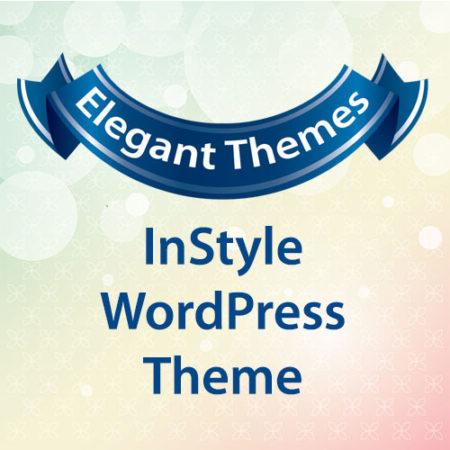 Elegant Themes InStyle WordPress Theme