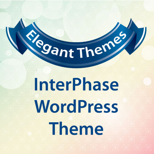 Elegant Themes InterPhase WordPress Theme