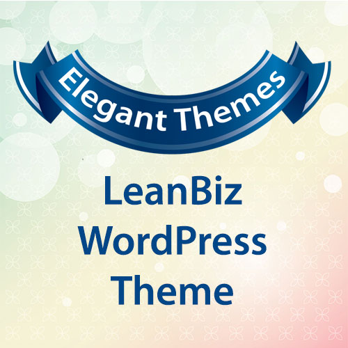 Elegant Themes LeanBiz WordPress Theme