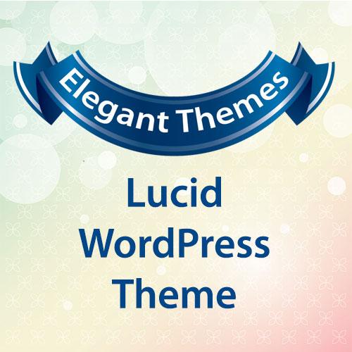 Elegant Themes Lucid WordPress Theme