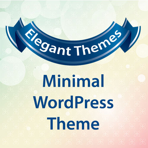 Elegant Themes Minimal WordPress Theme