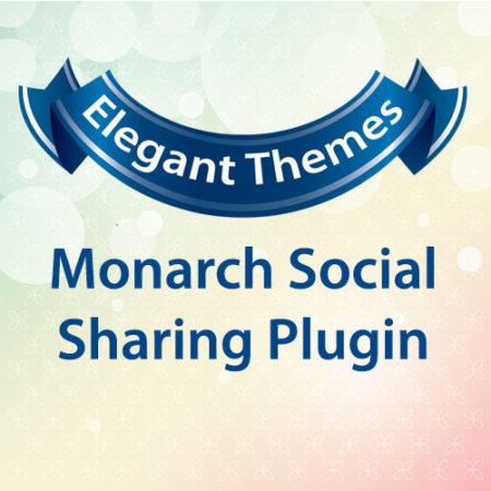 Elegant Themes Monarch Social Sharing Plugin