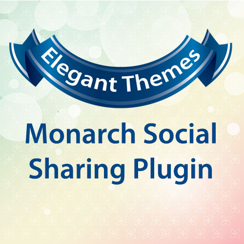 Elegant Themes Monarch Social Sharing Plugin