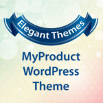 Elegant Themes MyProduct WordPress Theme