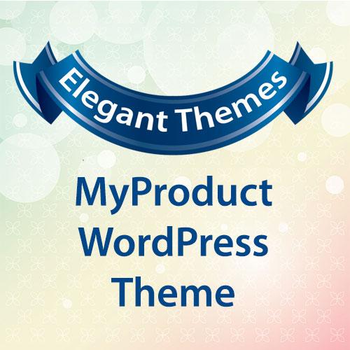 Elegant Themes MyProduct WordPress Theme