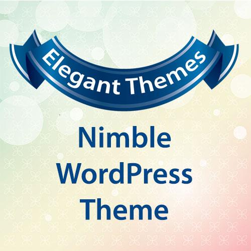 Elegant Themes Nimble WordPress Theme