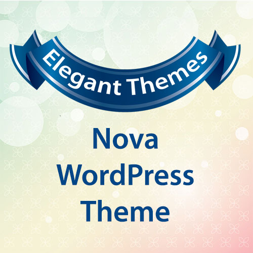 Elegant Themes Nova WordPress Theme