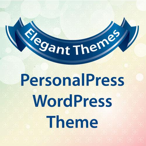 Elegant Themes PersonalPress WordPress Theme
