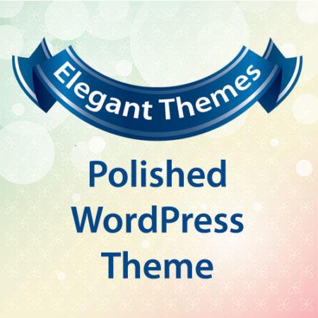 Elegant Themes Polished WordPress Theme