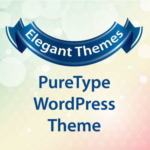Elegant Themes PureType WordPress Theme