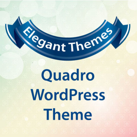 Elegant Themes Quadro WordPress Theme