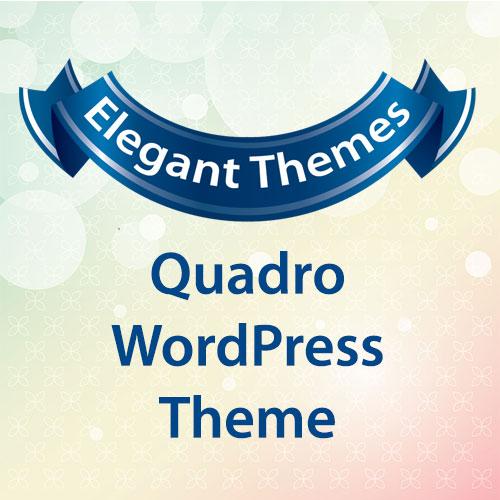 Elegant Themes Quadro WordPress Theme