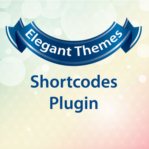 Elegant Themes Shortcodes Plugin