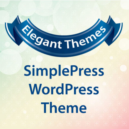 Elegant Themes SimplePress WordPress Theme