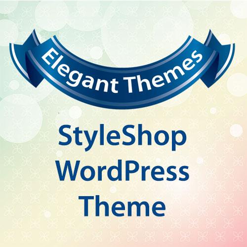 Elegant Themes StyleShop WordPress Theme