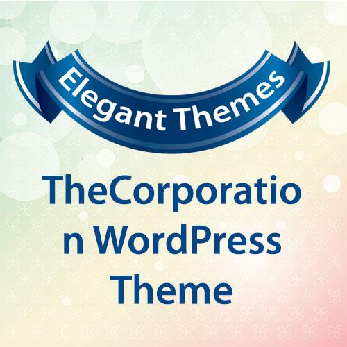 Elegant Themes TheCorporation WordPress Theme