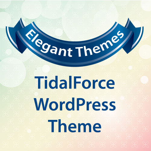 Elegant Themes TidalForce WordPress Theme
