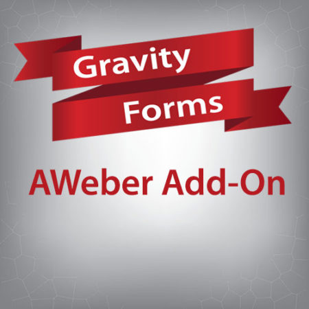 Gravity Forms AWeber Add-On