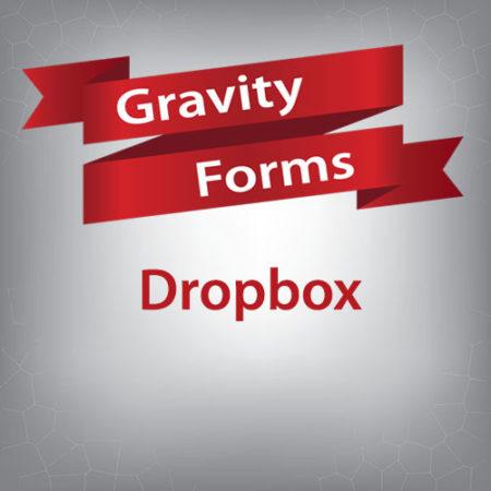 Gravity Forms Dropbox