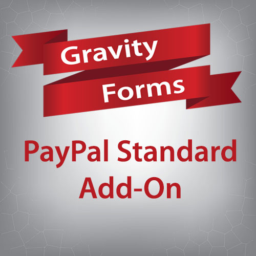 Gravity Forms PayPal Standard Add-On