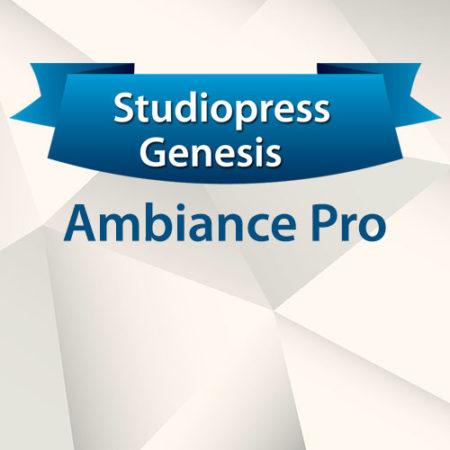StudioPress Genesis Ambiance Pro