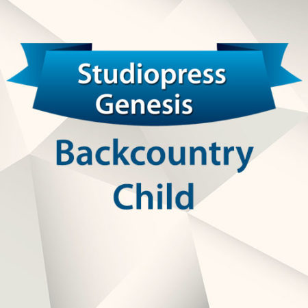 StudioPress Genesis Backcountry Child