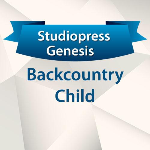 StudioPress Genesis Backcountry Child