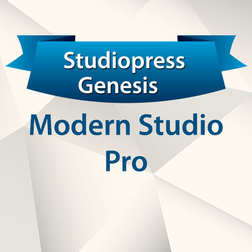StudioPress Genesis Modern Studio Pro