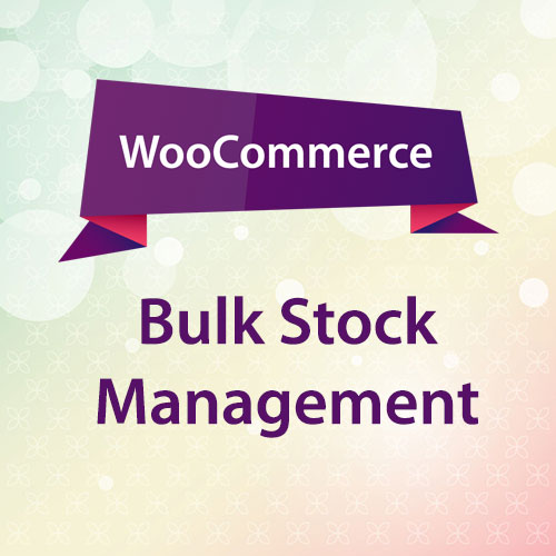 WooCommerce Bulk Stock Management