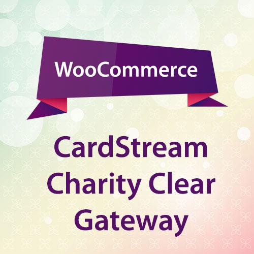 WooCommerce CardStream Charity Clear Gateway